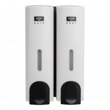 Дозатор для жидкого мыла двойной HÖR-715A