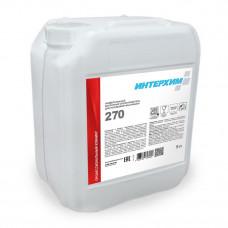 ИНТЕРХИМ 270 Универсальный кислотный ополаскиватель для посудомоечных машин
