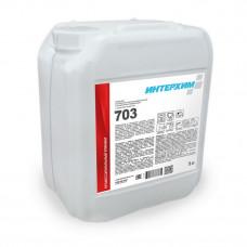 ИНТЕРХИМ 703 Средство регулярной очистки поверхностей в санитарных помещениях с защитным эффектом