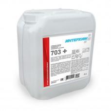 ИНТЕРХИМ 703 + Усиленное средство регулярной очистки поверхностей в санитарных помещениях