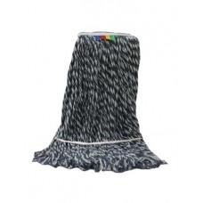 Насадка для швабры Моп ACG 400 гр. темный Кентукки веревочный, хлопок, петлевой прошитый,