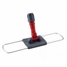 Держатель для МОП 60x10 см,металлическая рамка пластиковая ручка, крепление карманы